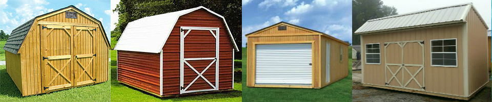 purchase or rent 2 own storage buildings sheds garages cabins playhouses throughout georgia - Garden Sheds Georgia
