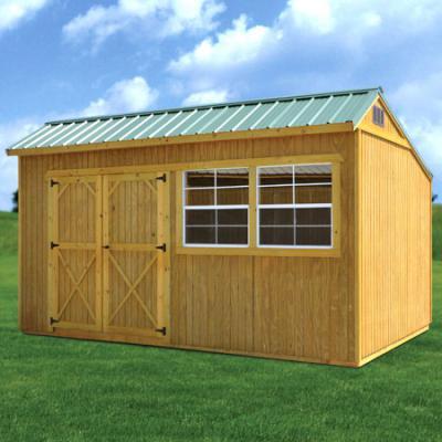 Rent to own storage buildings sheds garages carports barns for Garage builders alabama