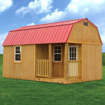 PT Side Lofted Barn Cabin Web - Rent2ownSheds.com