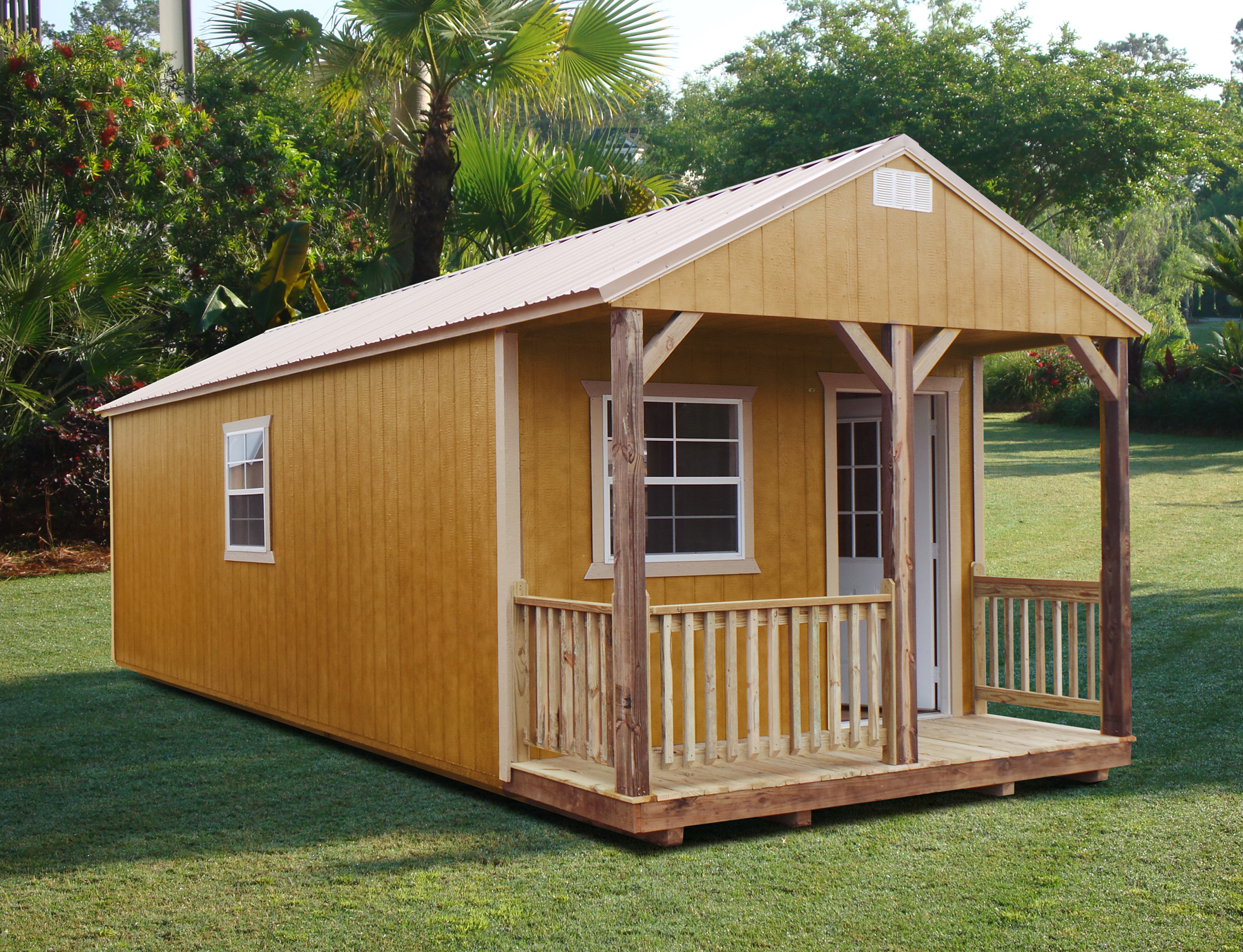 Portable Sheds And Cabins : Urethane wood buildings rent ownsheds